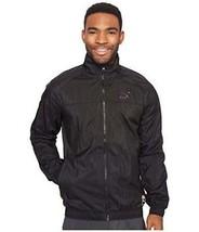 Puma TL30809 Men's Black Colorblock Windbreaker Track Jacket Coat M - $35.19