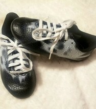 Adidas Boy Soccer Shoes Football Boots Cleats Outdoor Black White 13 - $14.84