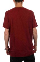 Lacoste Men's Sport Athletic Premium Pima Cotton V-Neck Shirt T-Shirt Wine image 2