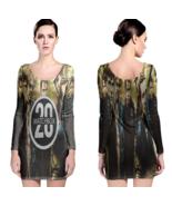 Matchbox Twenty Women Sexy Long Sleeve Bodycon  Dress - $24.80+