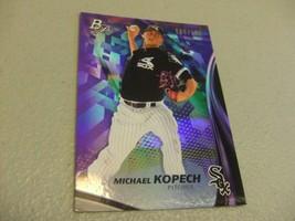 2017 Bowman Platinum Purple #d 069/250 Michael Kopech -Chicago White Sox- - $3.12