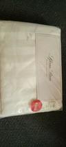 New Sferra Bros 500 TC Luxury Hotel King Sheet Set Cream Stripe Egyptian Cotton - $295.02