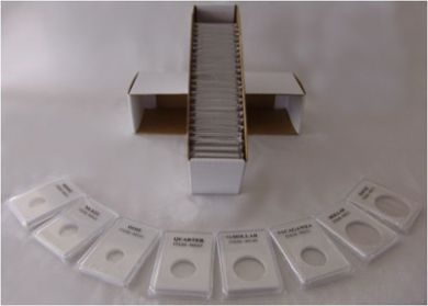 500 Coin Grading Slabs for Half Dollars. (WHOLESALE / CASE QUANTITY)  image 2