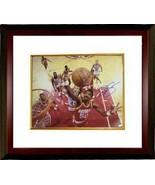 Ralph Sampson signed Houston Rockets 16x20 Photo Custom Framed vs Clippers - $137.00