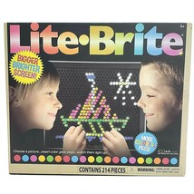 Lite-Brite Ultimate Classic with 214 Pegs & Bigger Screen and 6 Templates New - $29.88