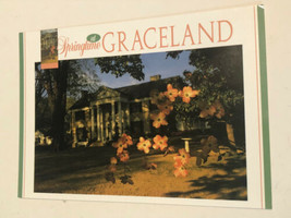 Elvis Presley Graceland Postcard Autumn Flowers - $3.46