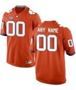 Men's Custom NUMBER Clemson Tigers Jersey Football NCAA Jerseys Orange - $47.50 - $47.50