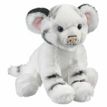 Wild and Wonderful White Tiger Cub Plush Stuffed Animal From Wildlife Ar... - $14.66