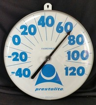 "RARE Prestolite Batteries Thermometer Ohio Jumbo large dial 18"" advertis... - $225.00"