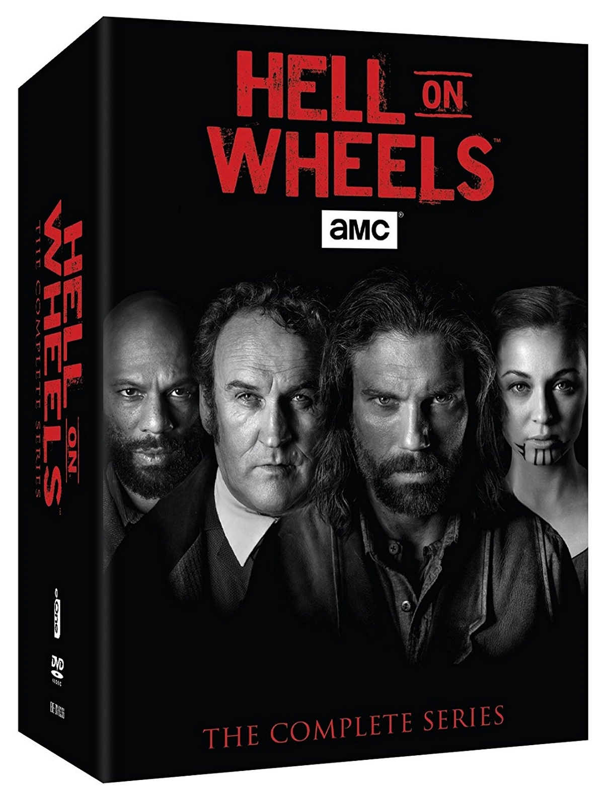 Hell on wheels season one five 1 5 complete series boxset  17 disc  2016