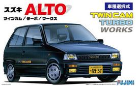 Fujimi 1:24 ID-56 Suzuki Alto Works Twin Cam/Turbo Plastic Model Kit - $40.51