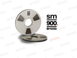 "RTM 1/2"" SM900 High Output Master Tape  Big Reel 12,5"" 3750ft 1143m Auth... - $180.18"