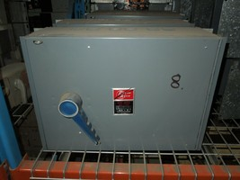 Frank Adam QSF-4033 400A Single 3PH 240V Fusible Panelbaord Switch Unit ... - $1,800.00