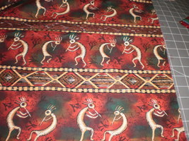 Michael Miller Kokopelli Southwest Native Fabric Michael Miller Fabrics ... - $19.95