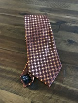 "Kenneth Cole NEW  Silk Tie Diamond Pattern 3.5"" Wide Classic 60"" Length ... - $18.54"
