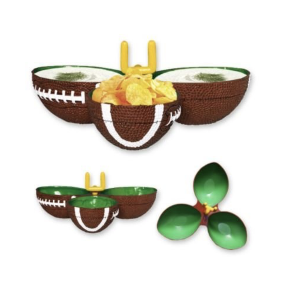 Party Snack Condiment Dish Football Birthday Super Bowl Candy Serving Tailgating