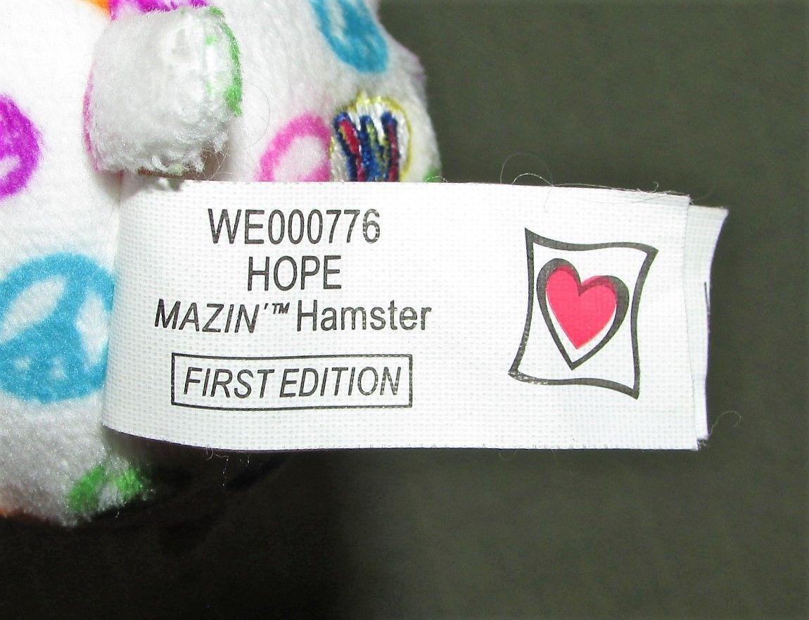 Plush Lot Ganz FIRST EDITIONS MAZIN Amazing HAMSTER Presto PETUNIA Hope Green +