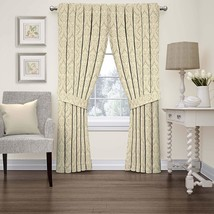 Waverly 15421052084LIN Donnington 52-Inch by 84-Inch Damask Single Windo... - $34.18