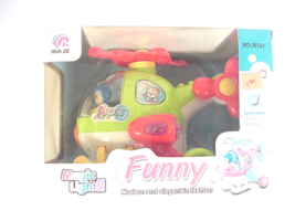Funny Play set Battery Operated with flashing lights & sound effects Hel... - $7.99