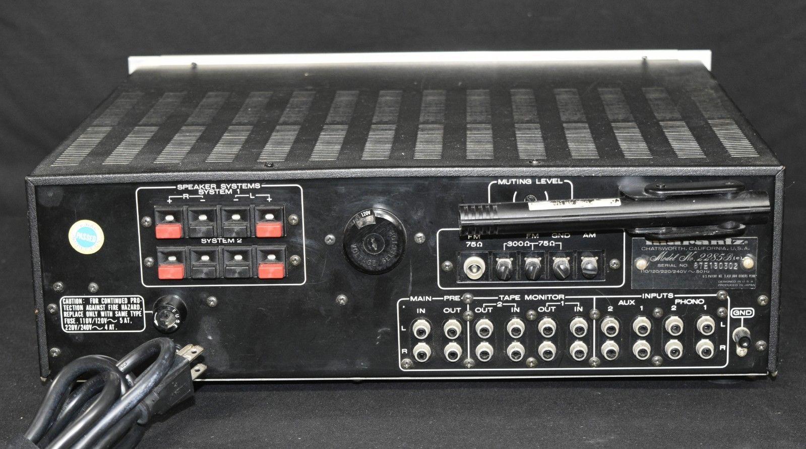 Vintage Marantz 2285B serviced with LED and 50 similar items