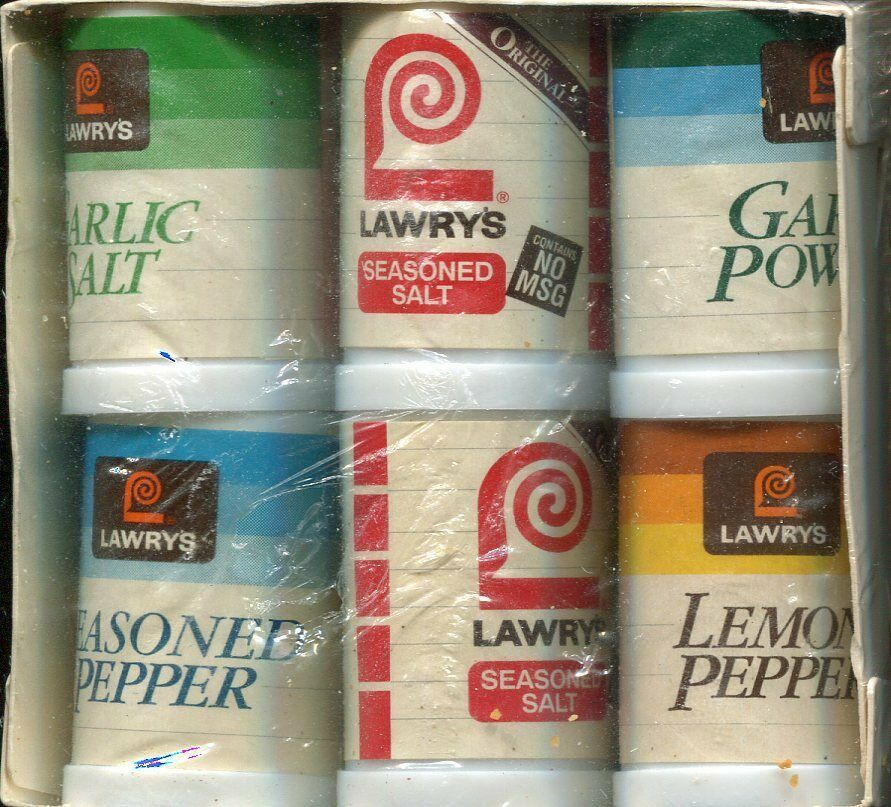 New in Package - Lawry's Spice Blend 6-Pack Mini Shakers - Novelty Item - $4.45