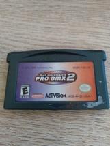 Nintendo Game Boy Advance GBA Mat Hoffman's Pro BMX 2 image 2