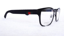 GUCCI Men's Optical Frame GG0175O Black 54-17-145 Metal MADE IN ITALY - ... - $225.00