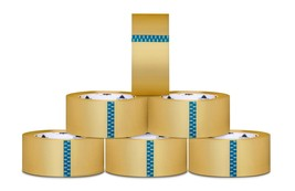 "Carton Sealing Packaging Tape, 2"" x 110 yards, 3"" Core, Clear, 2.3 Mil -... - $4,176.71"