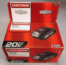 Craftsman 125.BL2015 20V 20 Volt Lithium Ion LI-ION Battery 1.5AH 30WH - Boxed! - $37.95