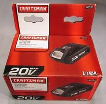 CRAFTSMAN 125.BL2015 20V 20 VOLT LITHIUM ION LI-ION BATTERY 1.5AH 30WH -... - $37.95
