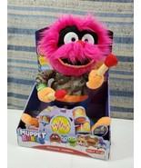 Disney Jr Muppet Babies Rockin Animal Plush Toy Stuffed Doll Drums Talks... - $34.64