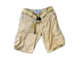 Women's Roosevelt American College Orange Cargo Shorts  And Belt Sz 28 - $8.60