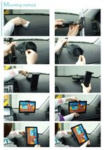 """Xenomix 2X SHG-NX1000 Tablet PC Car Dashboard-mount Holder Cradle 10""""inch NEW image 7"""
