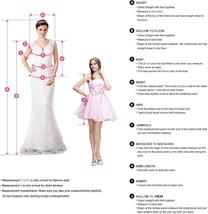 Bridal Fashion Scoop Neck Lace Top Wedding Dresses Sleeveless Pleated Satin Lace image 6