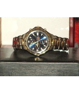 Pre-Owned Vintage Men's Blue, Silver and Gold C... - $49.50