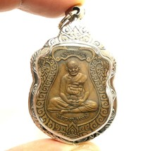 LP HONG LORD GANESHA BLESSED COIN POWERFUL THAI AMULET PENDANT LUCKY RIC... - $63.99