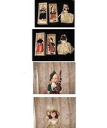 Vintage Doll Lot 2 Sleep Eyed + 1 Other Ethnic Dolls Scottish Boy Bagpip... - $19.99