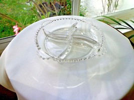 Imperial Candlewick 3400 Pattern 4 Partition Relish Dish - $28.70