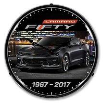 Camaro Fifty Backlit Clock - $129.95