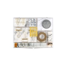 Marble White Stationery Gift Kit School Office Supplies Stationery Sets ... - $41.48