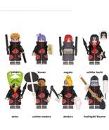 8pcs Naruto Series Akatsuki Group Nagato Konan Itachi Kisame Tobi Minifi... - $16.99