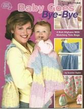 ASN Baby Goes Bye-Bye 4 Knit Afghan Gift Set Bags American School of Nee... - $12.71