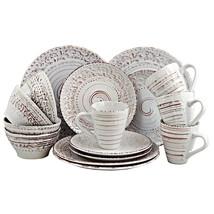 Elama Malibu Sands 16-Piece Dinnerware Set in Shell - $87.45