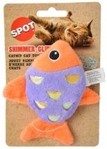 SPOT SHIMMER GLIMMER OR FELT CATNIP TOYS PLAY TURTLE BUTTERFLY FISH MOUSE image 11