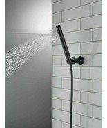 Delta Faucets 55085-BL Single-Setting Wall Mount Hand Shower - Black - $144.53