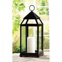 Large Contemporary Candle Lantern - $46.00