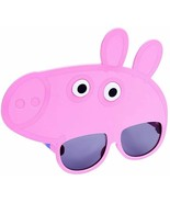 Peppa Pig Costume Sunglasses Sun-Staches UV400 Protection! - $8.36
