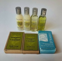 Crabtree & Evelyn Travel Size Toiletries Soap Shampoo Conditioner Lotion... - $9.89