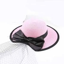 Beach Hat Summer For Children Handmade Simple Elegant Large Brimmed Girl... - $16.10