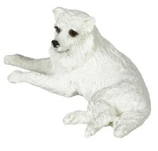 Dollhouse Miniature 1:12 Scale White Spitz #A2499WH - $7.99